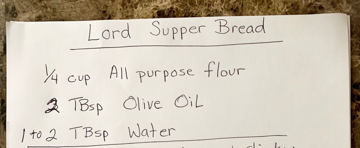Make your own unleavened bread fromhome
