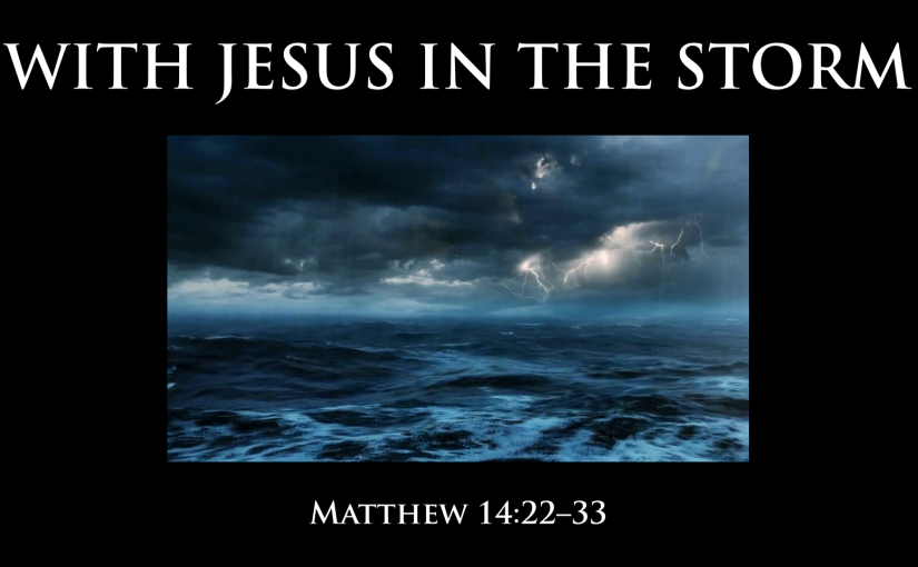 With Jesus in theStorm